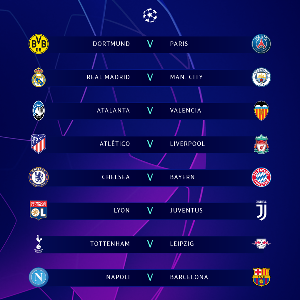 CL  round of 16
